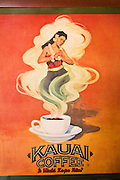 Kauai Coffee Company logo, Island of Kauai, Hawaii