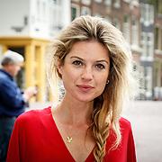 NLD/Amsterdam/20150620 - Huwelijk Kimberly Klaver en Bas Schothorst, Lauren Verster