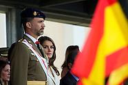 051013 prince felipe and princess letizia royal guards ceremony