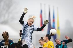 during football match between ŽNK Pomurje and ŽNK Krim in 12th Round of Slovenska ženska nogometna liga 2020/21, on November 15, 2020 in TŠC Trate, Gornja Radgona, Slovenia. Photo by Blaž Weindorfer / Sportida