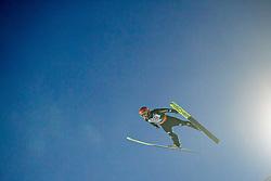 Markus Eisenbichler (GER) // Markus Eisenbichler of Germany in action during Day 3 of FIS Ski World Flying Championship Planica 2020, on December 12, 2020 in Planica, Kranjska Gora, Slovenia. Photo by Vid Ponikvar / Sportida
