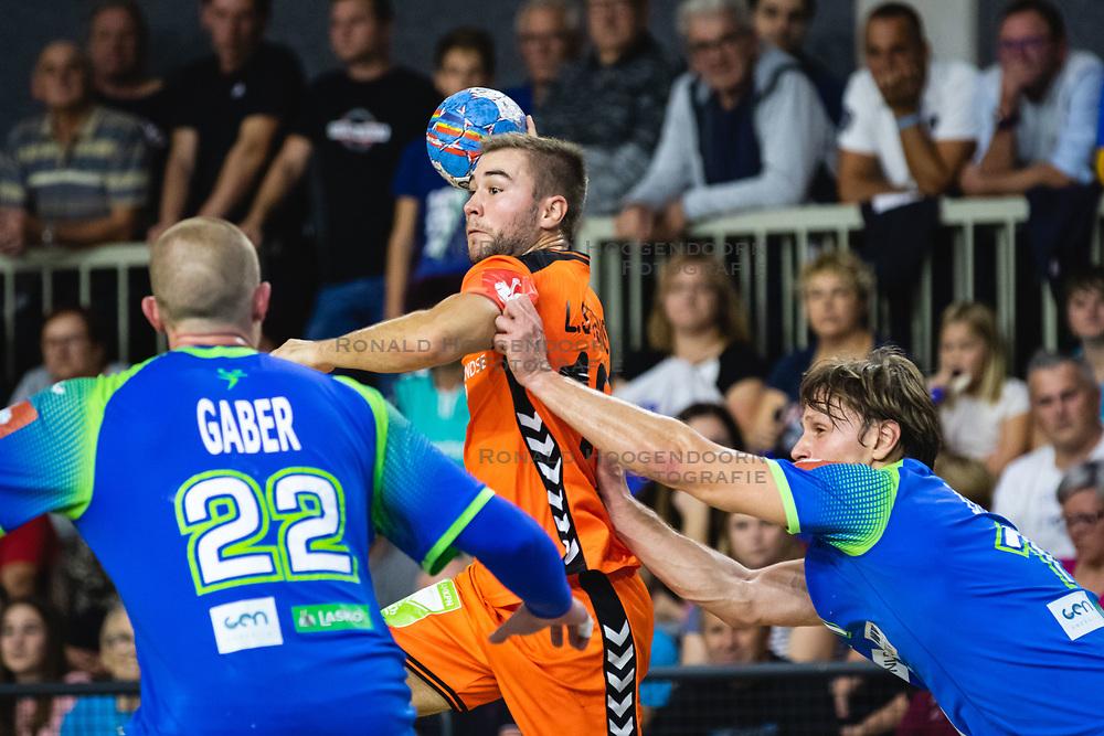 25-10-2019 SLO: Slovenia - Netherlands, Ormoz<br /> Luc Stein of Nederland during friendly handball match between Slovenia and Nederland, on October 25, 2019 in Sportna dvorana Hardek, Ormoz, Slovenia.