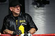 BOXEN: EC Boxing, Schwergewicht, Hamburg, 31.10.2020<br /> Cutman Mick Brüg<br /> © Torsten Helmke