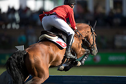 Jufer Alain, (SUI), Wiveau M<br /> CSIO 5* Spruce Meadows Masters - Calgary 2016<br /> © Hippo Foto - Dirk Caremans<br /> 11/09/16