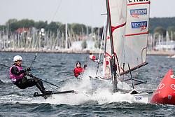, Kiel - Kieler Woche 18. - 26.06.2016, Musto Skiff - SUI 436 - Roger OSWALD - SC Enge