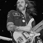 PENNSYLVANIA - SEPTEMBER 19: Lemmy Kilmister of Motorhead performs on September 19, 1992, in Allentown, Pennsylvania. ©Lisa Lake