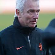 NLD/Katwijk/20110321 - Training Nederlandse Elftal Hongarije - NLD, Bert van Marwijk