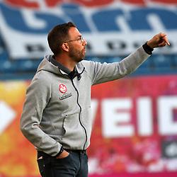 Rostock Deutschland 23.06.2020  Fussball  3.Liga FC Hansa Rostock - 1.FC Kaiserslautern<br /> <br /> Trainer Boris Schommers  1.FC Kaiserslautern<br /> <br /> Foto © PIX-Sportfotos *** Foto ist honorarpflichtig! *** Auf Anfrage in hoeherer Qualitaet/Aufloesung. Belegexemplar erbeten. Veroeffentlichung ausschliesslich fuer journalistisch-publizistische Zwecke. For editorial use only. DFL regulations prohibit any use of photographs as image sequences and/or quasi-video.