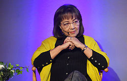 Cape Town-180815 Patricia de Lille listening to questions from the host of the Daily Maverick media  gathering Lindiwe Mazibuko who was asking them about different topics .photograph:Phando Jikelo/African News Agency/ANA