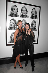 Left to right, KATE MOSS and photographer CORINNE DAY at the opening party for 'Face of Fashion' an exhibition of photographs by five of the World's leading fashion photographers held at the National Portrait Gallery, St.Martin's Lane, London on 12th February 2007.<br /><br />NON EXCLUSIVE - WORLD RIGHTS