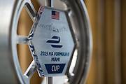 March 14, 2015 - FIA Formula E Miami EPrix: Formula E Miami trophy