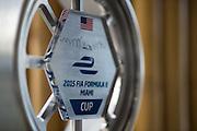 March 14, 2015 - FIA Formula E Miami EPrix: Formula E Miami trophy