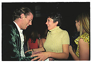 Rory Fleming, Ghislaine Maxwell, Plum and Lucy Sykes birthday. Manhattan. 1999