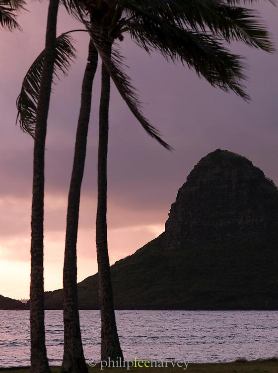 Kualoa Regional Park on the island of O'Ahu, Hawai?i