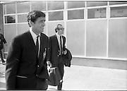 17/09/1968<br /> 09/17/1968<br /> 17 September 1968<br /> Manchester United arrive at Dublin Airport.