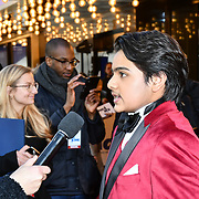 Dean Chaumoo Arrives at The Kid Who Would Be King on 3 February 2019 at ODEON Luxe Leicester Square, London, UK.