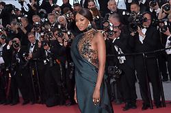 """71st Cannes Film Festival 2018, Red Carpet film """"Blackkklansman"""". Pictured: Noemi Campbell"""