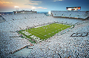 """""""White Out"""" -- Penn State vs. Notre Dame -- Beaver Stadium, State College, PA"""