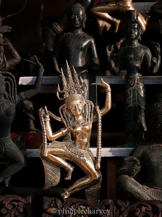Souvenirs for sale at Angkor, Siem Reap Province, Cambodia
