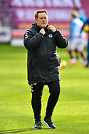 Ayr United manager, David Hopkin before the SPFL Championship match between Heart of Midlothian and Ayr United at Tynecastle Park, Edinburgh, Scotland on 13 March 2021.