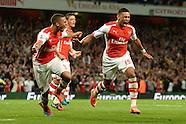 Arsenal v Tottenham Hotspur 270914