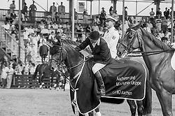 Van Geenberghe Jean Claude, BEL, Osta Carpets Carrera<br /> CHIO Aachen 1993<br /> © Hippo Foto - Dirk Caremans<br /> 02/06/2020
