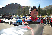 June 26-30 - Pikes Peak Colorado.  Greg Tracy after practice for the 91st running of the Pikes Peak Hill Climb.