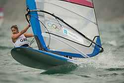 31.07.2012, Bucht von Weymouth, GBR, Olympia 2012, Windsurfen, im Bild RS:X Women, Skarlatou Angeliki (GRE) . EXPA Pictures © 2012, PhotoCredit: EXPA/ Juerg Kaufmann ***** ATTENTION for AUT, CRO, GER, FIN, NOR, NED, POL, SLO and SWE ONLY!
