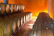 Barrel cellar. Henrque HM Uva, Herdade da Mingorra, Alentejo, Portugal