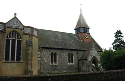 The Church at the wedding of Tom Parker Bowles to Sara Buys at St.Nicholas Church, Rotherfield Greys, Oxfordshire on 10th September 2005.<br /><br />NON EXCLUSIVE - WORLD RIGHTS