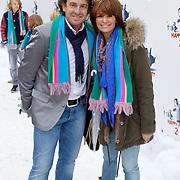 NLD/Amsterdam/20111119 - Premiere Happy Feet 2, Marco Borsato en partner Leontien Ruiters