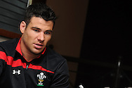 Mike Phillips. Wales rugby team training at the Millennium stadium in Cardiff on Friday 10th Feb 2012.  pic by Andrew Orchard, Andrew Orchard sports photography,