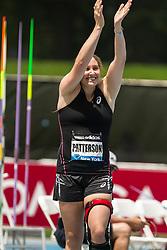 Kara Patterson, USA,, women's javelin, adidas Grand Prix Diamond League track and field meet