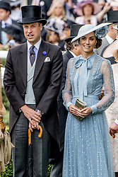 Duchess of Cambridge and Duke of Cambridge on day one of Royal Ascot at Ascot Racecourse. June 18, 2019. Photo by Robin Utrecht/ABACAPRESS.COM