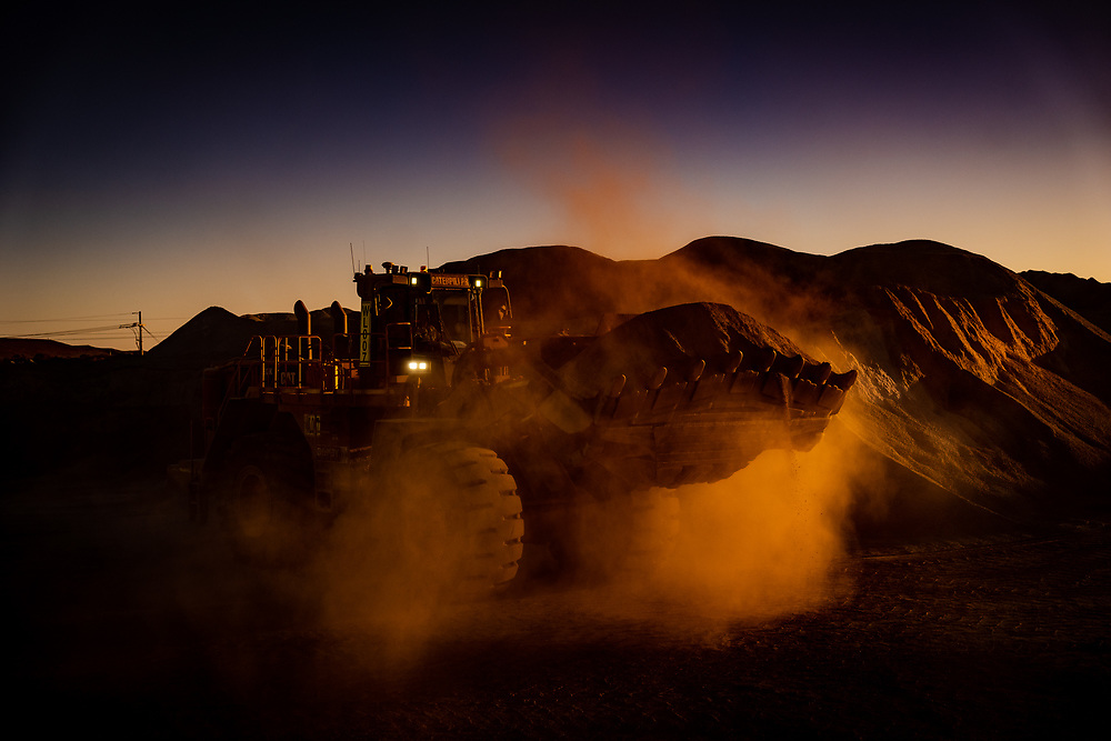 Mining operations at Anglo Gold's Sunrise Dam.