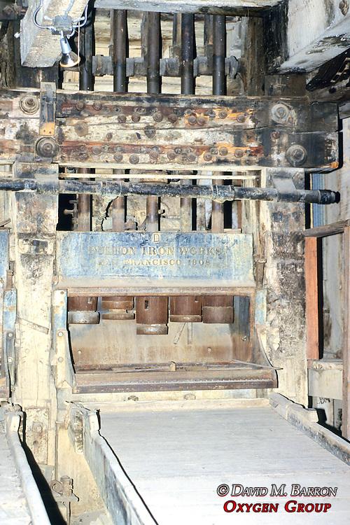 Inside Bodie Mill
