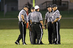 21 September 2012: Normal Community Ironmen  v Normal Community West Wildcats Football in Normal Illinois at NCWHS for the annual Chili Bowl