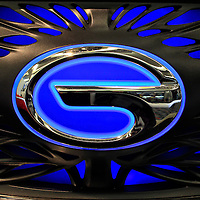 """""""GAC Concept Car Logo""""<br /> <br /> A very cool front grill, and logo on a concept car out of China from the GAC group!!<br /> <br /> Cars and their Details by Rachel Cohen"""