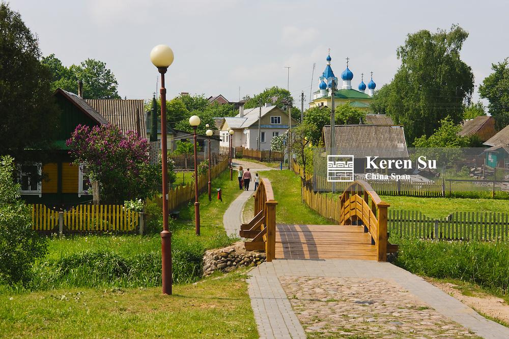 The town of Mir, Belarus
