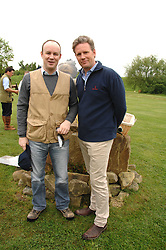 Left to right, LORD ALEXANDER HOPE and RUPERT KENYON-SLANEY at a charity shoot in aid of the charity Save The Rhino held at the West London Shooting School, Northolt, Middlesex on 30th May 2008.<br /><br />NON EXCLUSIVE - WORLD RIGHTS