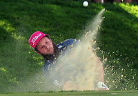 Golf - 2017 BMW PGA Championship - West Course, Wentworth<br /> <br /> Andrew Johnston comes out of a bunker, during the first round.<br /> <br /> COLORSPORT/ANDREW COWIE