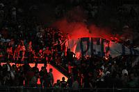 Contestazione tifosi Napoli prostest Napoli's supporters <br /> Napoli 31-05-2015 Stadio San Paolo Football Calcio Serie A 2014/2015 Napoli - Lazio. Foto Andrea Staccioli / Insidefoto