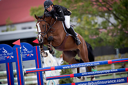 Bardyn Benjamin, BEL, Talis Van't Merelnest Z<br /> BK Young Horses 2020<br /> © Hippo Foto - Sharon Vandeput<br /> 6/09/20