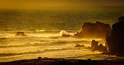 Evening light on the sea stacks at Mangersta, Isle of Lewis, Outer Hebrides, Scotland<br /> <br /> (c) Andrew Wilson | Edinburgh Elite media