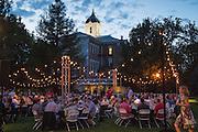 Grand dinner at nternational Pinot Noir Celebration, Linfield college, McMinnville, Oregon