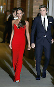 Nov. 9, 2015 - New York, NY, USA -<br /> <br /> Glamour Awards<br />  Victoria Beckham and Brooklyn Beckham arriving at the 2015 Glamour Women Of The Year Awards at Carnegie Hall <br /> ©Exclusivepix Media