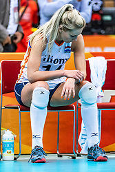 16-10-2018 JPN: World Championship Volleyball Women day 17, Nagoya<br /> Netherlands - China 1-3 / Laura Dijkema #14 of Netherlands