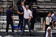 DESCRIZIONE : Bologna Memorial Porelli Obiettivo Lavoro Bologna Vanoli Cremona<br /> GIOCATORE : Cesare Pancotto<br /> CATEGORIA : allenatore delusione<br /> SQUADRA : Vanoli Cremona<br /> EVENTO : Memorial Porelli<br /> GARA : Obiettivo Lavoro Bologna Vanoli Cremona<br /> DATA : 23/09/2015<br /> SPORT : Pallacanestro <br /> AUTORE : Agenzia Ciamillo-Castoria/GiulioCiamillo