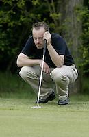 ARNHEM - Rene van Groningen.  Voorjaarswedstrijden Golf heren op de Rosendaelsche Golfclub COPYRIGHT KOEN SUYK