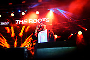 PHILADELPHIA, PA-JUNE 1: Black Thought of the ROOTS performs at the 12th Annual ROOTS Picnic featuring special guest Recording Artist/Actor Yasiin Bey and others on June 1, 2019  held at Fairmont Park in Philadelphia, PA.  (Photo by Terrence Jennings/terrencejennings.com)